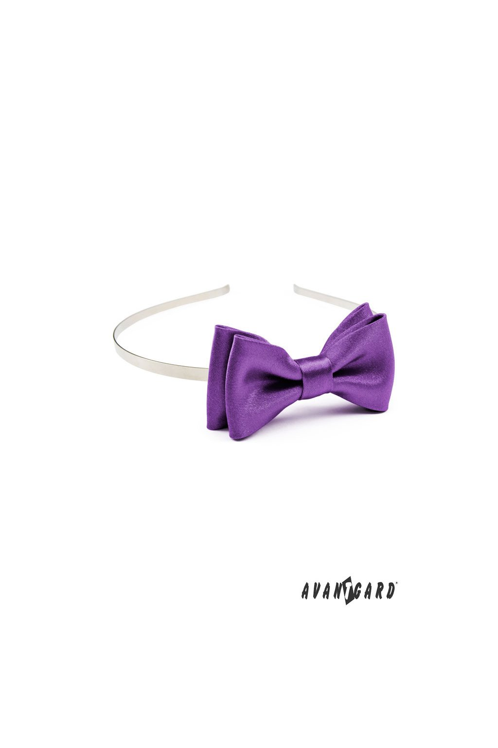 Čelenka s motýlkem fialová 756 - 9017