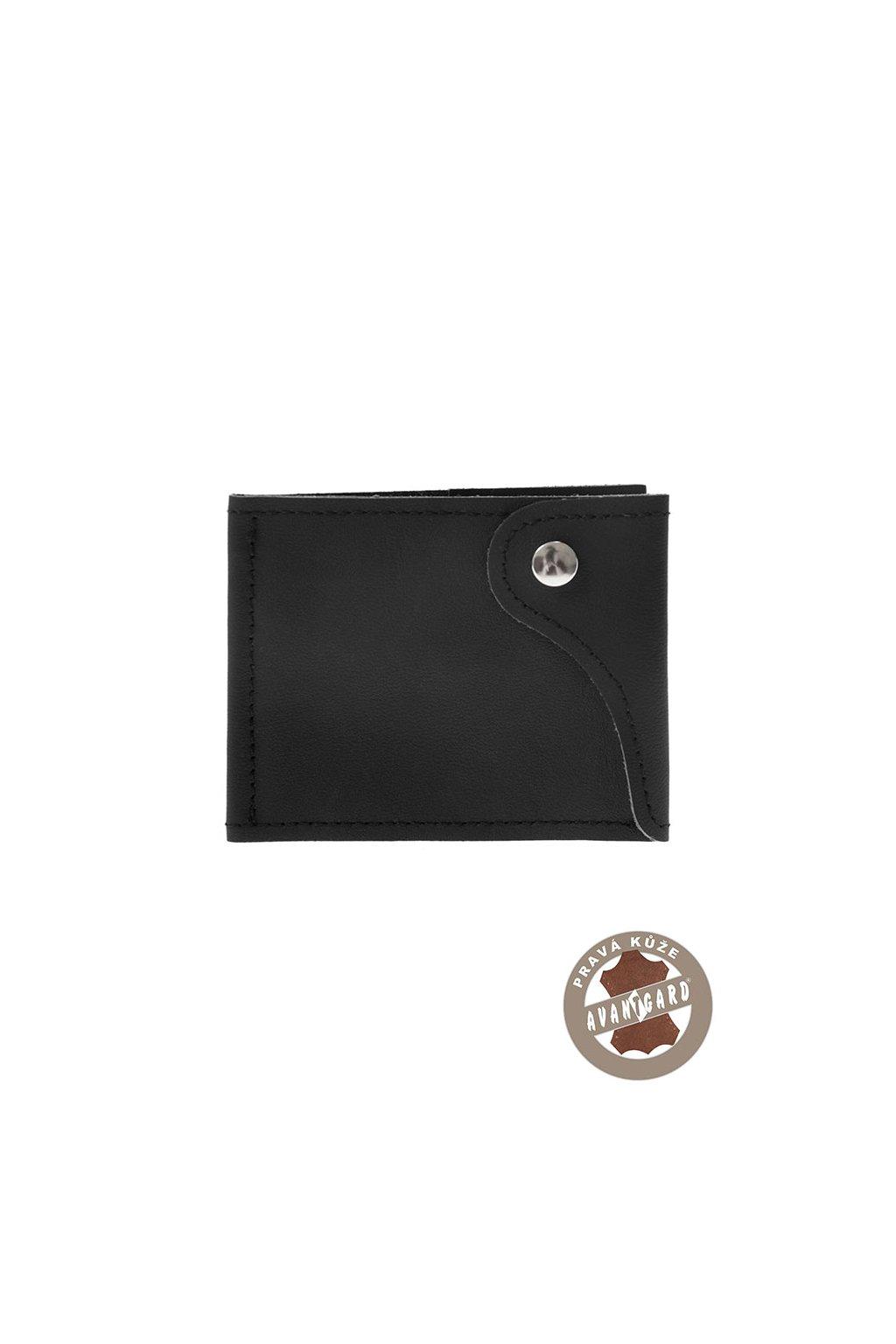 Pánská peněženka z pravé kůže černá 800 - 23