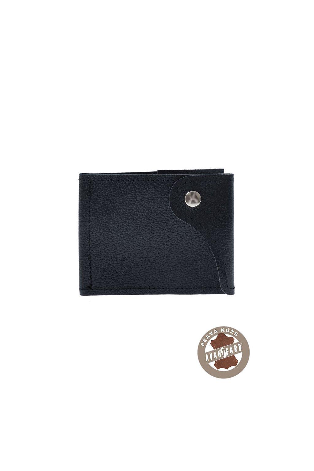 Pánská peněženka z pravé kůže modrá/kolo 800 - 313109