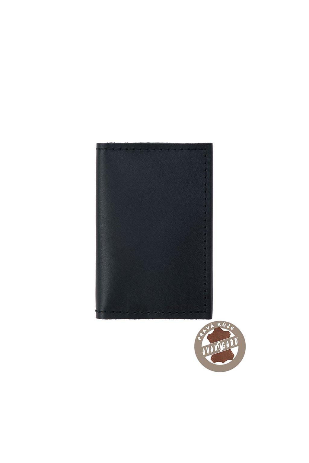 Pouzdro na karty a vizitky černá 804 - 23