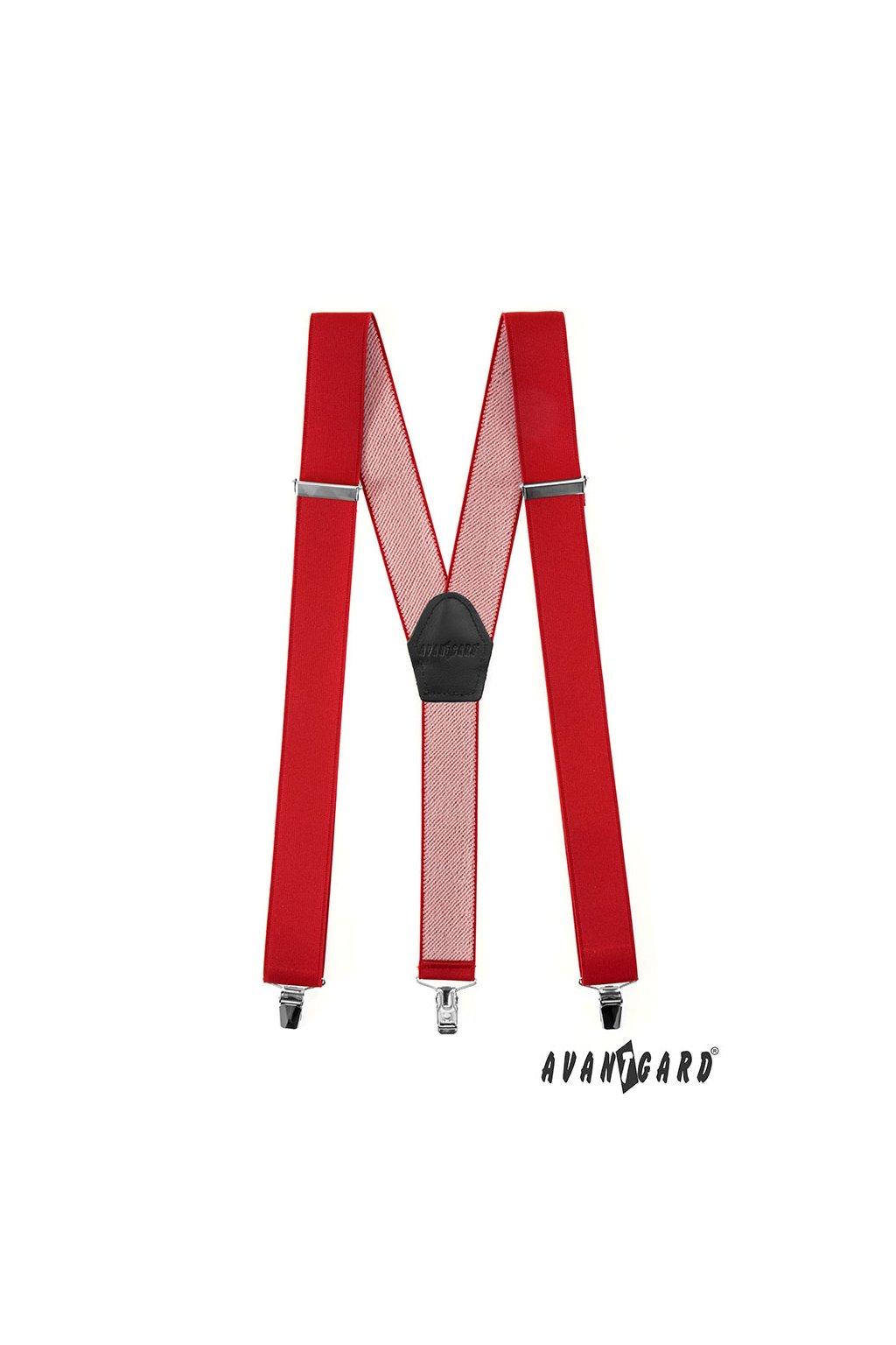 Červené šle Y na klipy 856 - 1223
