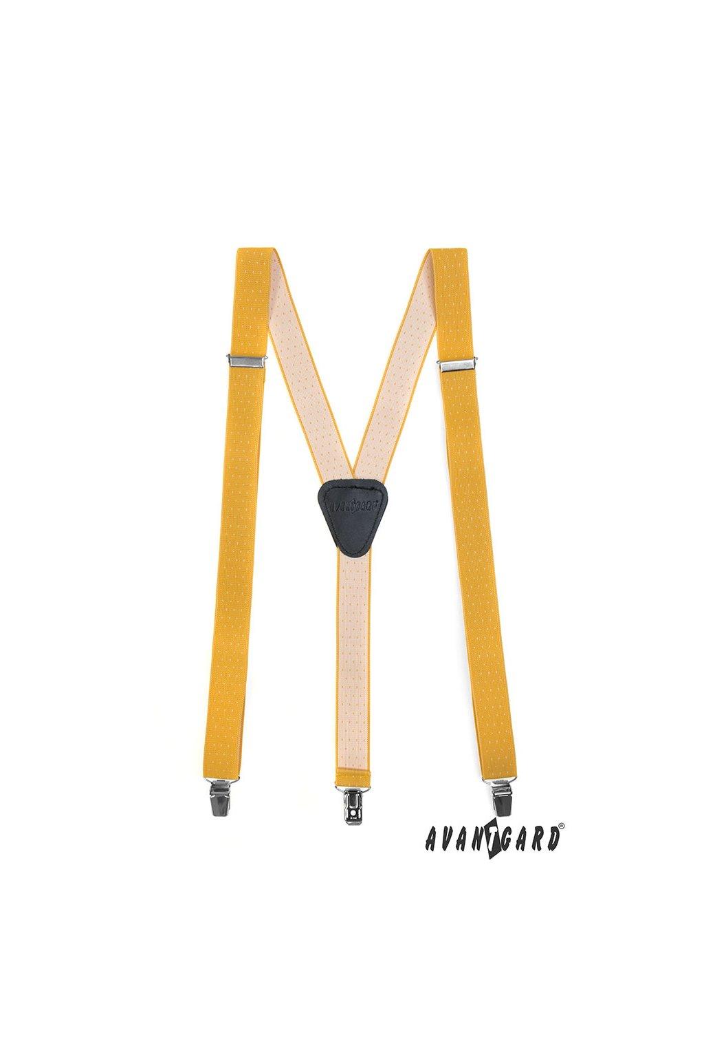 Žluté šle Y na klipy 867 - 2701