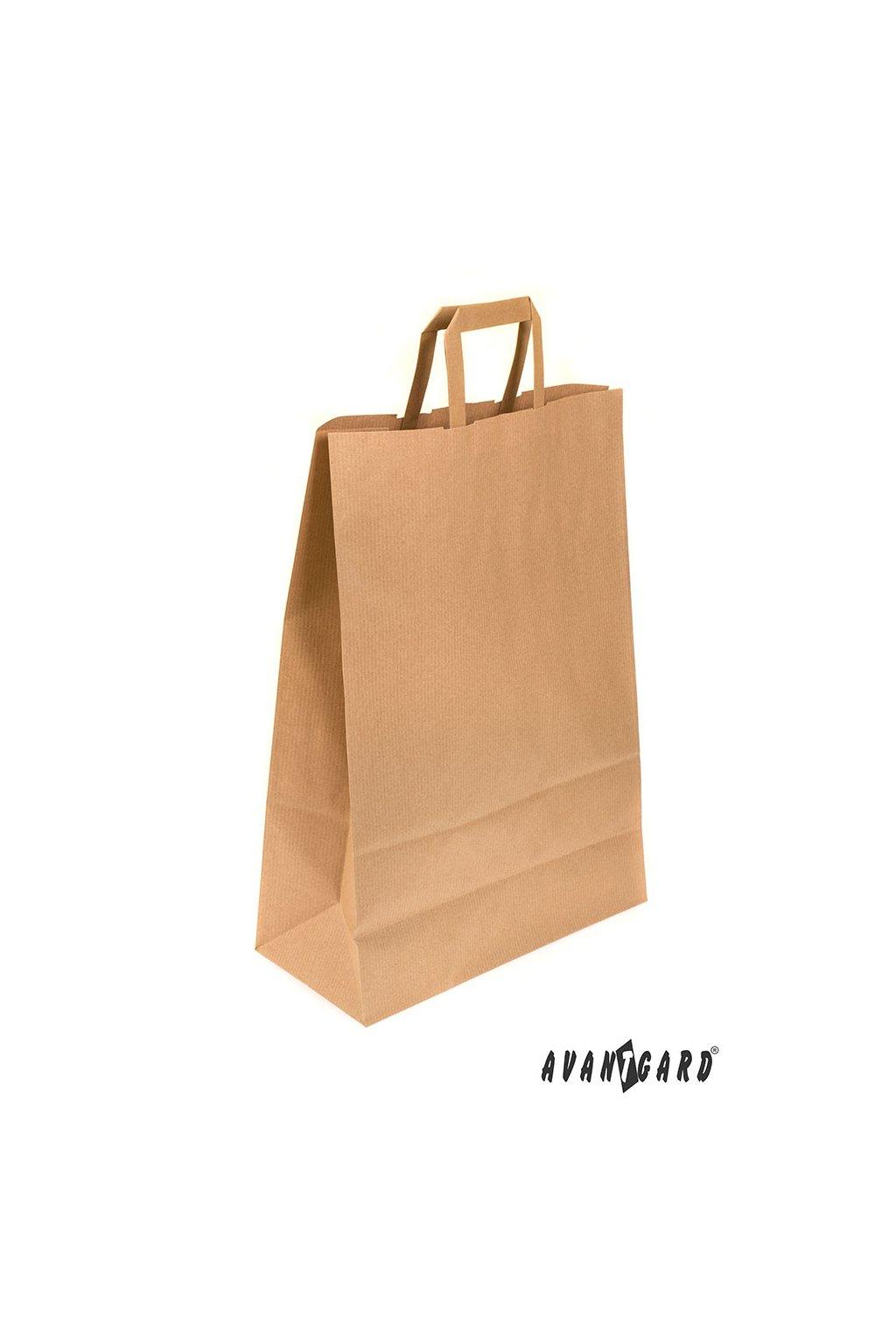 Papírová taška hnědá 911 - 37