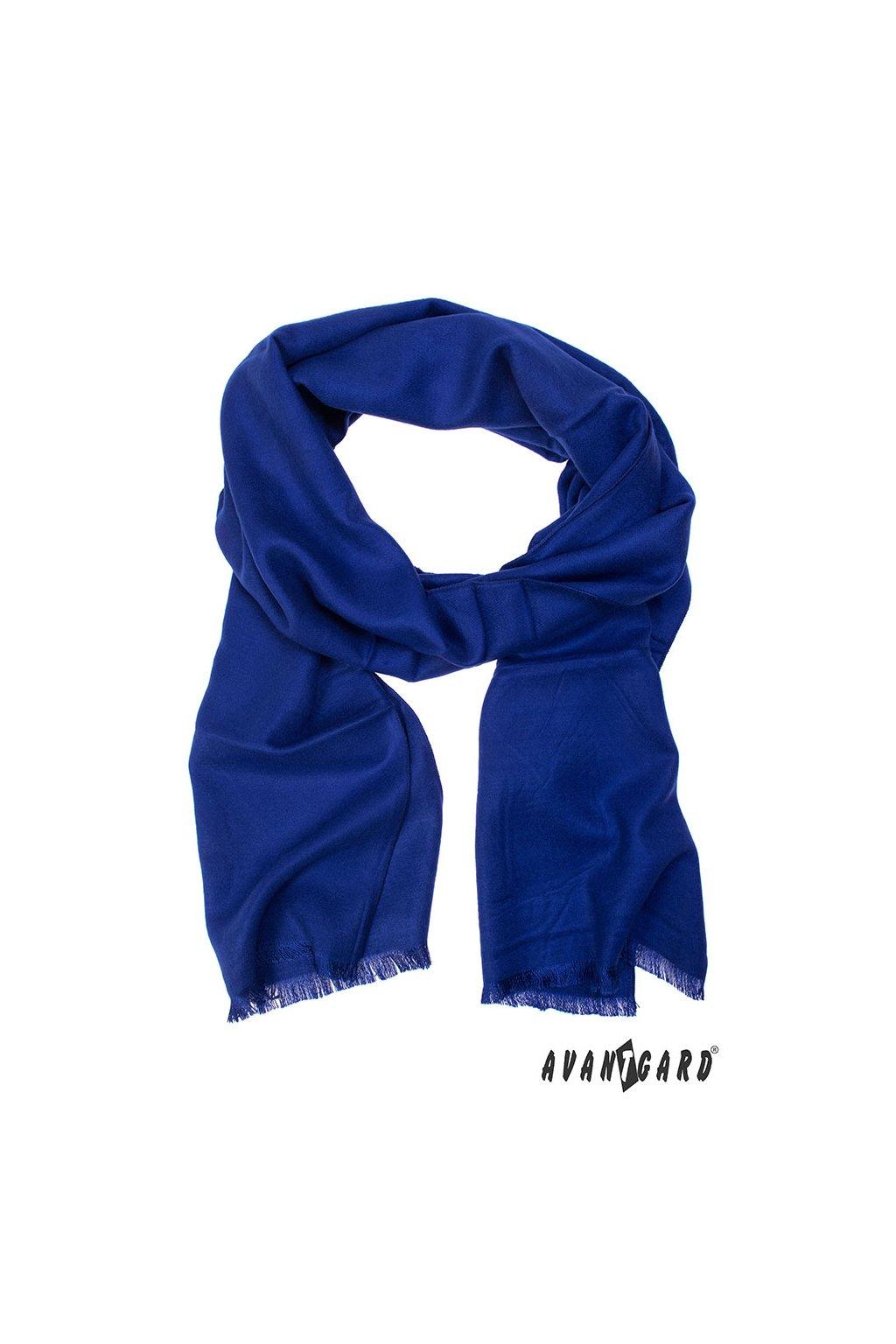 Šála modrá 957 - 01552