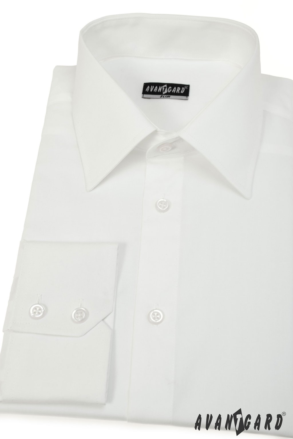 Pánská košile SLIM smetanová 167 - 224