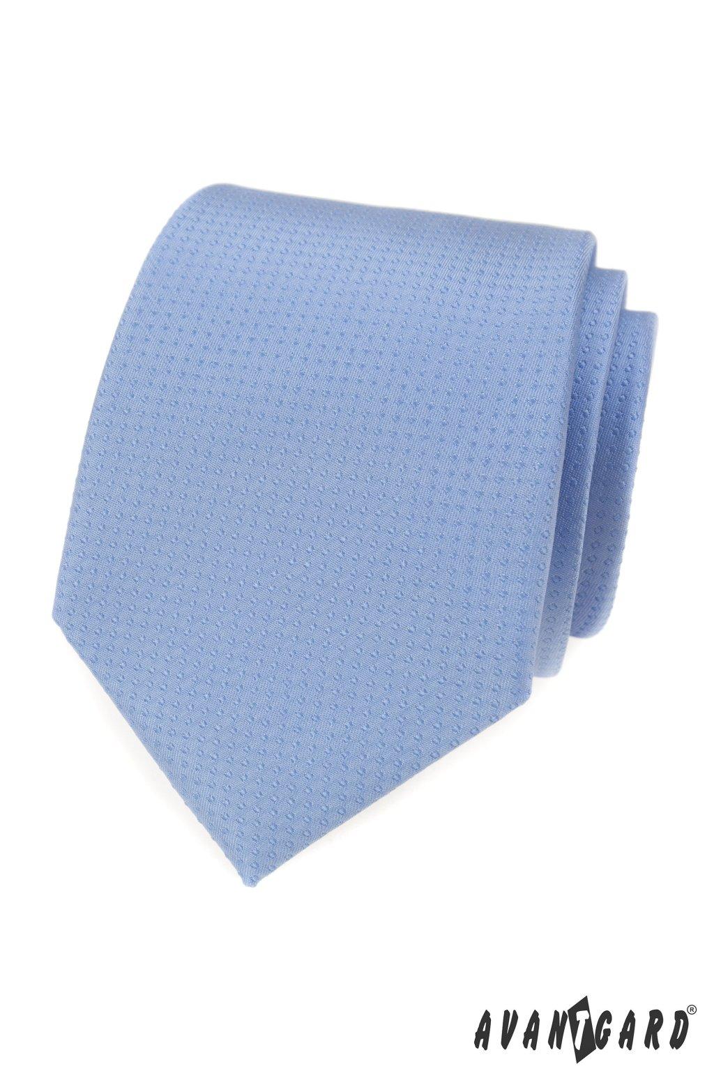 Kravata LUX modrá 561 - 14991