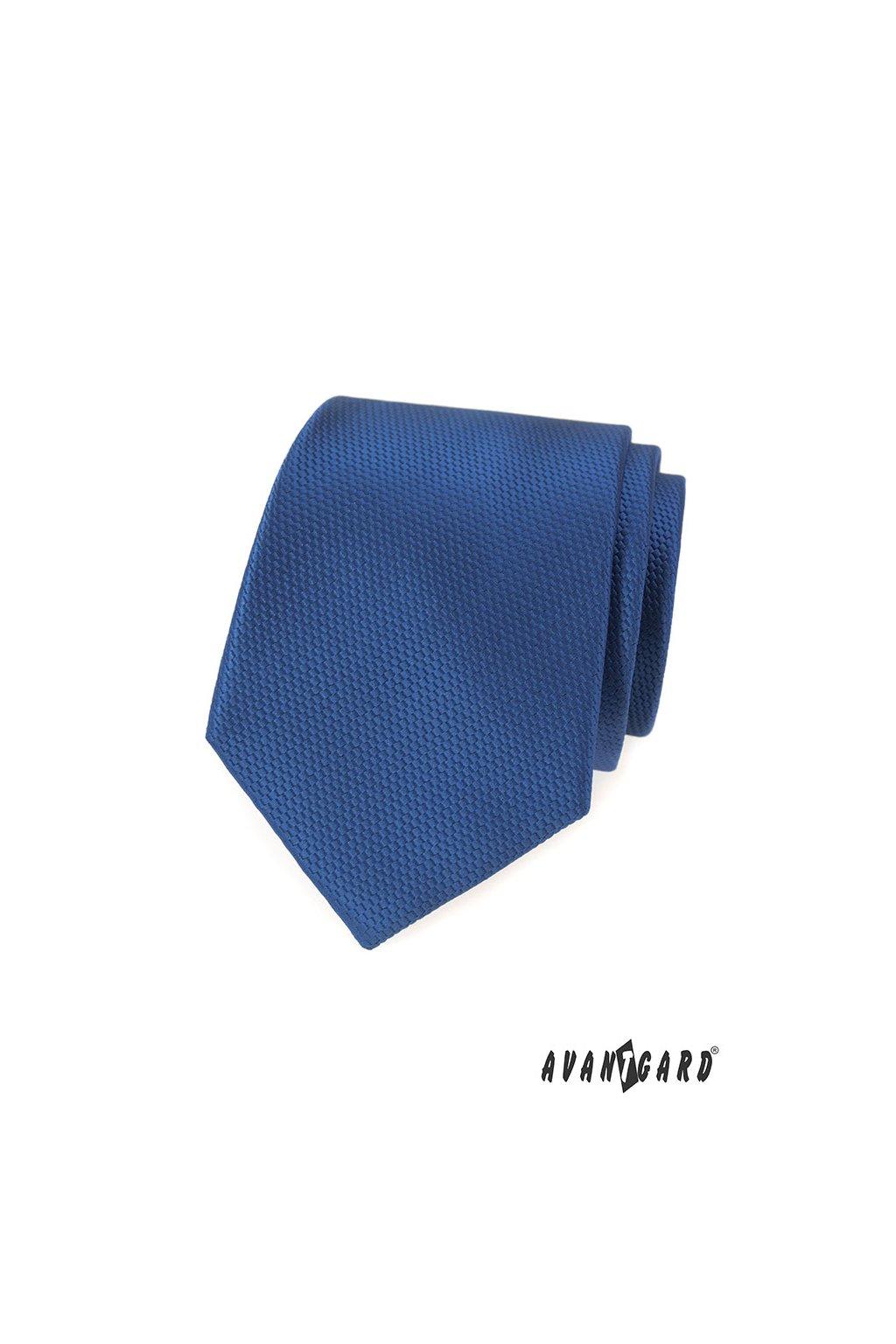 Kravata LUX modrá 561 - 14810