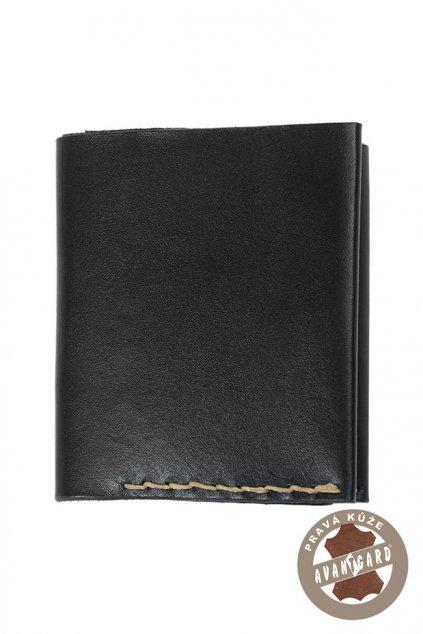 Pánská peněženka z pravé kůže černá 808 - 2312