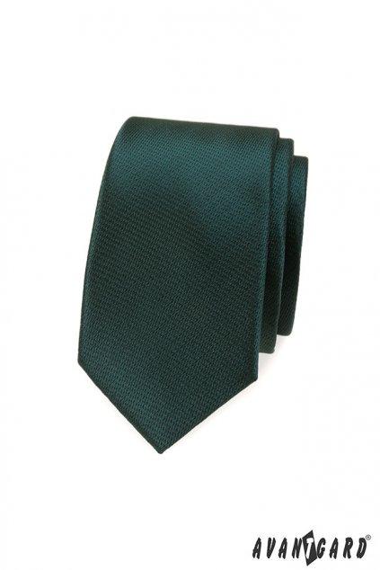 Pánská kravata SLIM LUX zelená