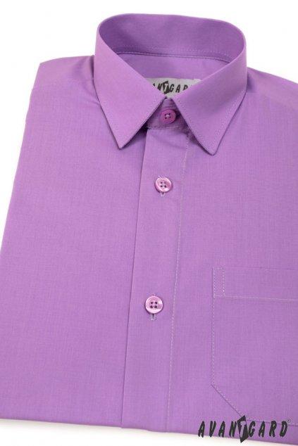 Chlapecká košile KLASIK fialová 468 - 38