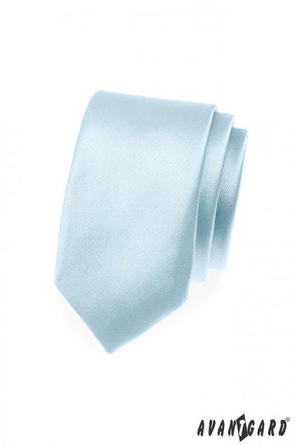 Světle modrá kravata Slim 551 - 764