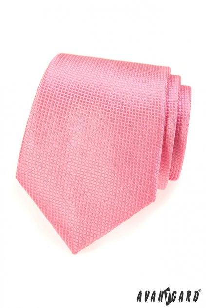 Růžová kravata 559 - 497