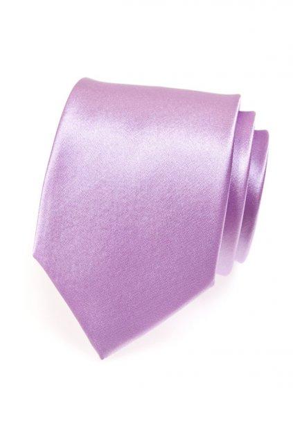 Fialová kravata 559 - 706