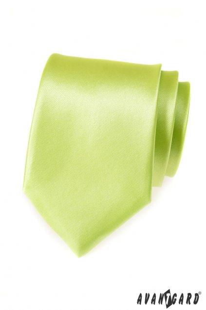 Světle zelená kravata 559 - 725