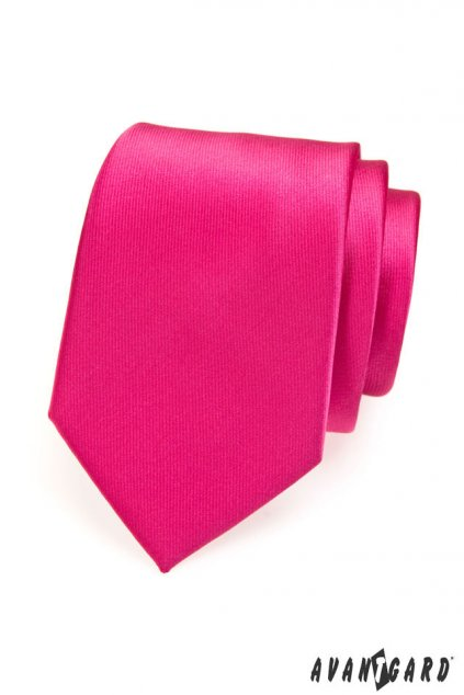 Pánská luxusní kravata fuxiová 561 - 14602
