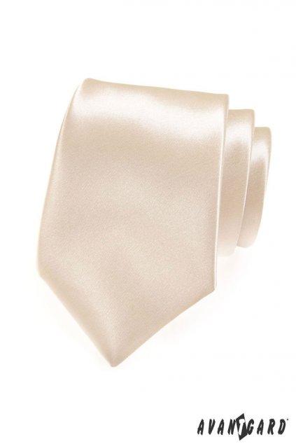 Ivory luxusní kravata lesklá 561 - 9007