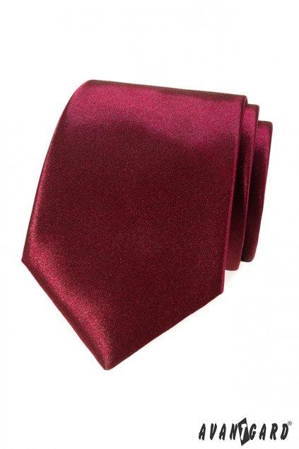 Pánská luxusní kravata bordó 561 - 9022