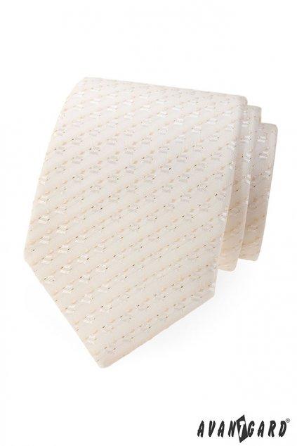 Ivory luxusní kravata se vzorkem 561 - 9321