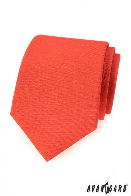 Kravata LUX oranžová 561 - 9835