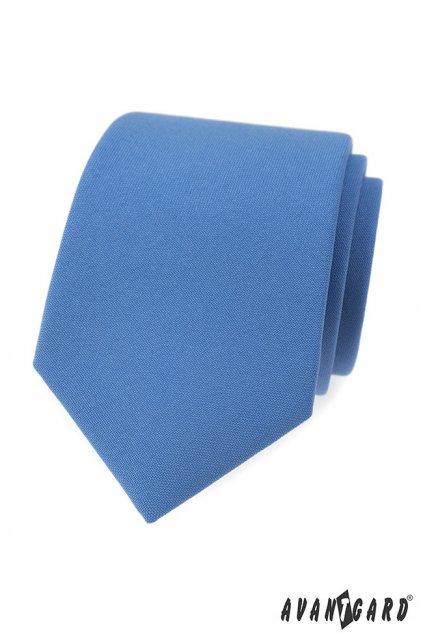 Modrá luxusní kravata světlá 561 - 9851