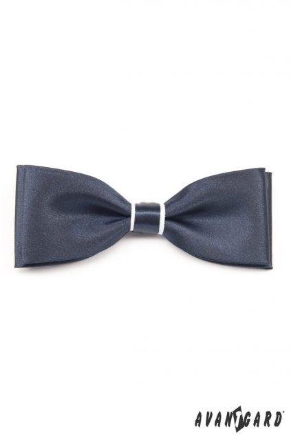 Motýlek s kapesníčkem modro-bílá 575 - 3101