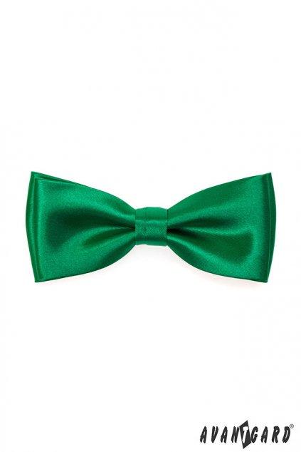 Motýlek s kapesníčkem smaragdová 575 - 9046