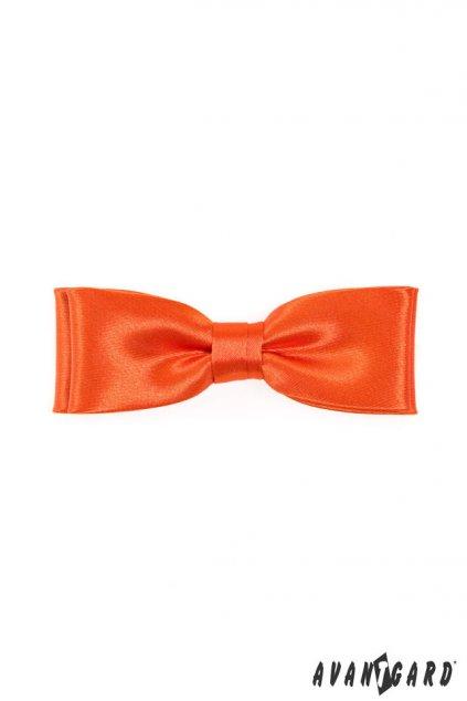 Pánský motýlek oranžový 576 - 9025