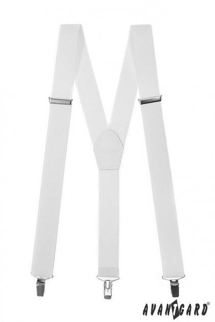 Bílé kšandy Y na klipy 856 - 101