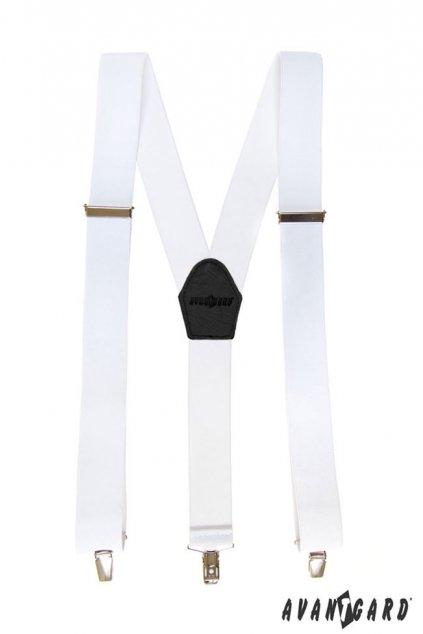 Bílé kšandy Y na klipy 856 - 123