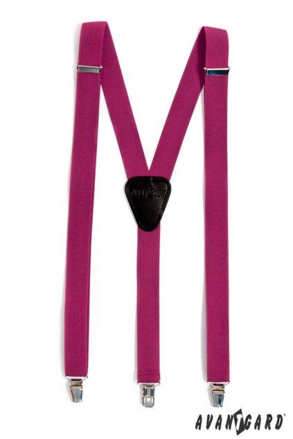 Purpurové šle Y na klipy 867 - 964023