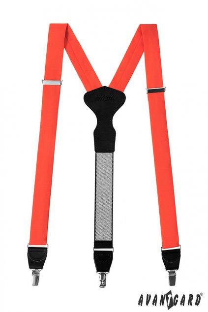 Oranžové šle Y na klipy 878 - 983523