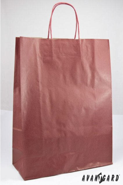 Dárková taška 320x130x425 vínová 933 - 13