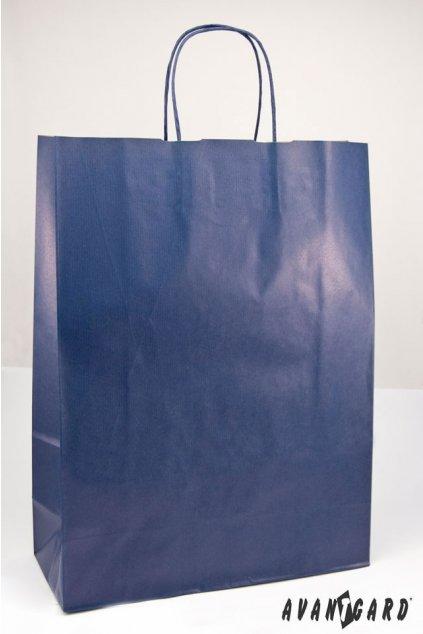 Dárková taška 320x130x425 modrá 933 - 28