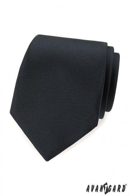 Grafitová kravata matná 559 - 7909