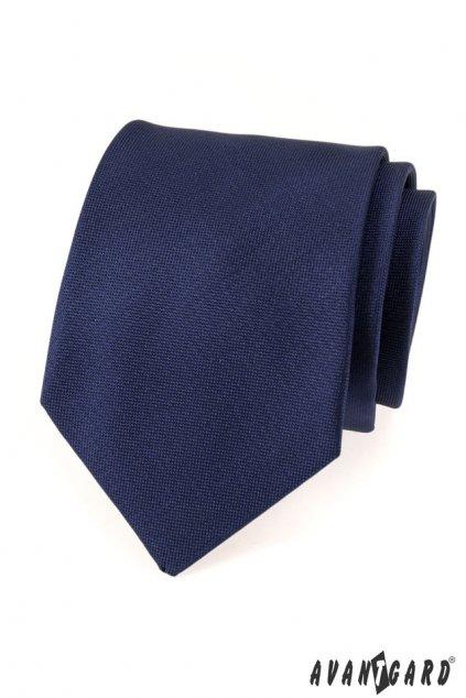 Tmavě modrá luxusní kravata 561 - 14922