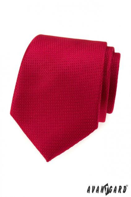 Tmavě červená luxusní kravata 561 - 81270