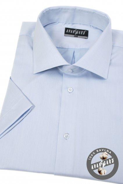 Pánská košile KLASIK s krátkým rukávem modrá 927 - 49