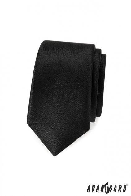 Kravata SLIM LUX černá 571 - 9015