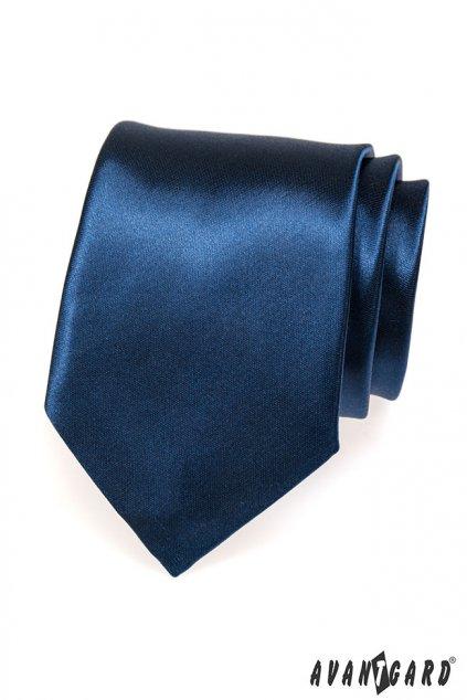 Klasická modrá kravata 559 - 782