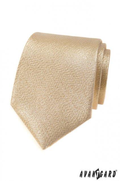 Kravata LUX zlatá 561 - 81193