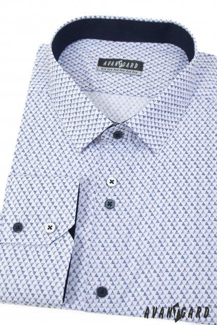 Pánská košile bílá 511 - 0177