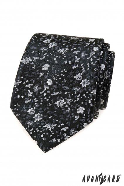 Kravata LUX černá 561 - 22086