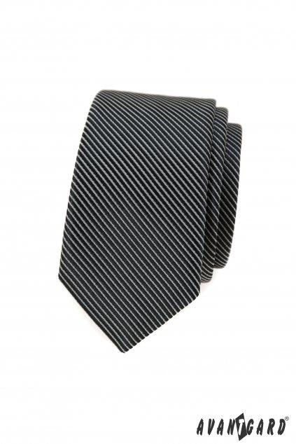 Kravata SLIM černá 551 - 398