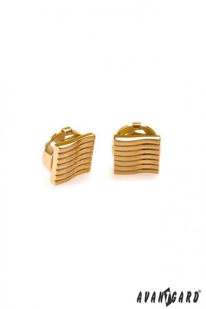 Manžetové návleky na knoflíčky zlatá 574 - 10013