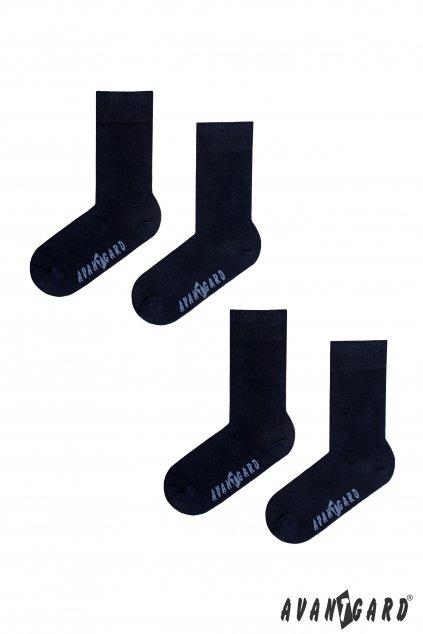 Set Ponožky 2 páry modrá 778 - 05007