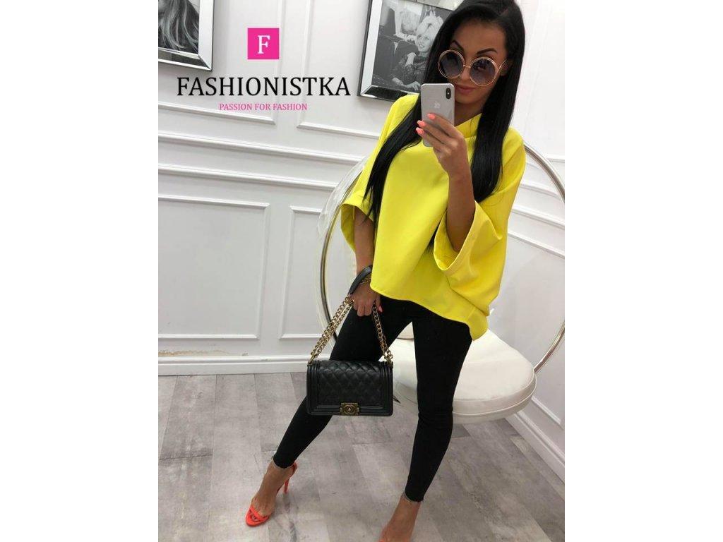 Fashionistka: HALENKA trendy žlutá