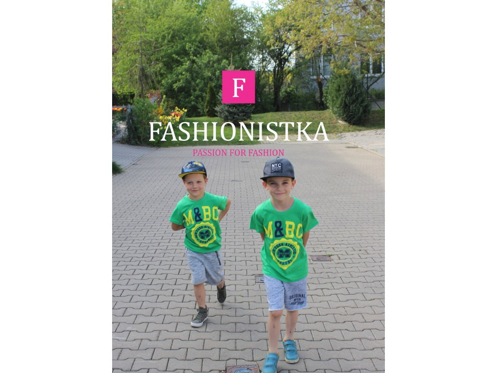M&BC zelené triko