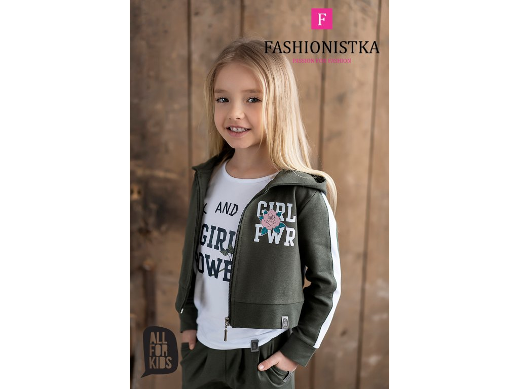 Fashionistka: SET letní ALL FOR KIDS khaki