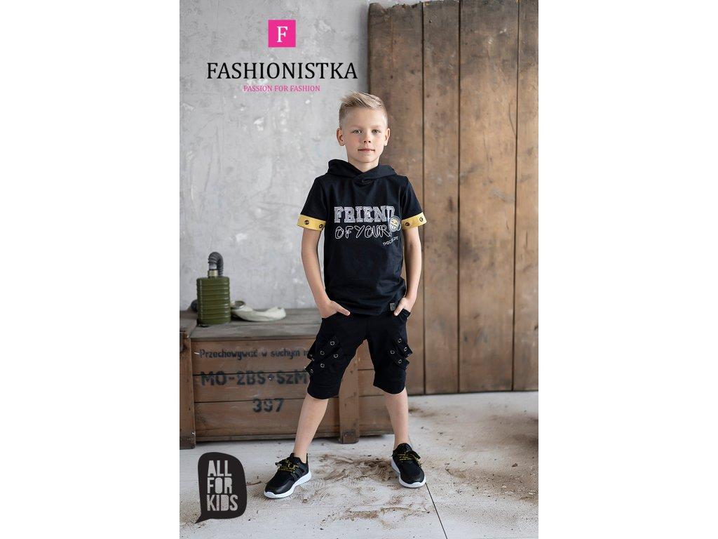 Fashionistka: SET letní ALL FOR KIDS černý