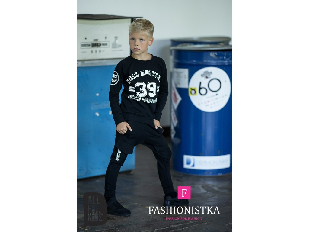 Fashionistka: SET cool ALL FOR KIDS černý